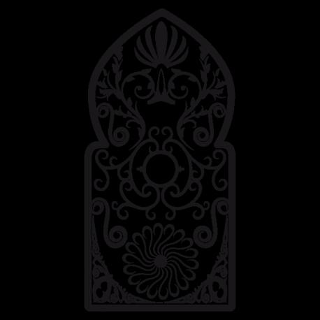Sticker Grille orientale