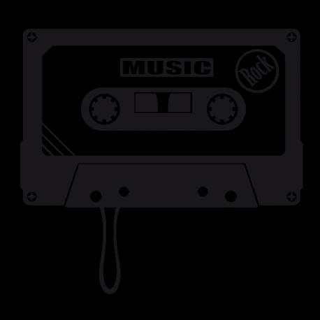 Sticker Rock Musique