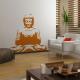 Sticker Bouddha solitaire