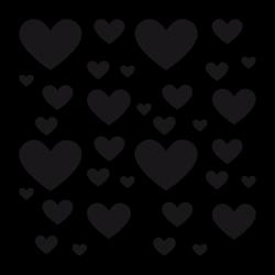 Sticker Coeurs