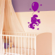 Sticker Ourson et ballon