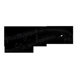 Sticker Partition de musique