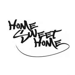 Sticker Home Sweet Home 2